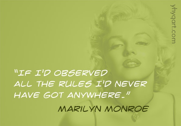 Marilyn and Rules