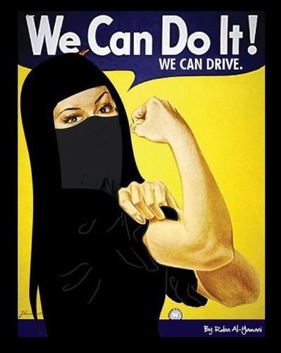 Saudi Women - We can Drive