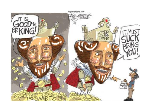 B_King cartoon