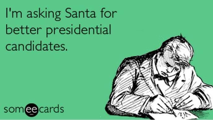 Please Santa a better Prez