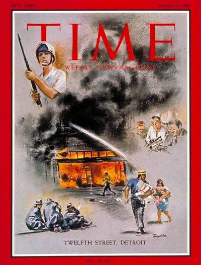 Time Mag - Race Riot in Detroit